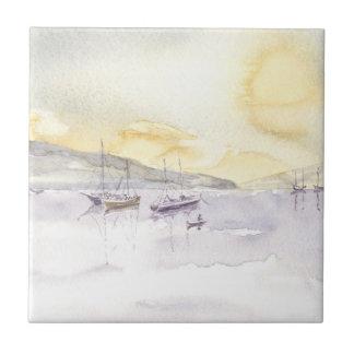 'Quiet Anchorage' Tile
