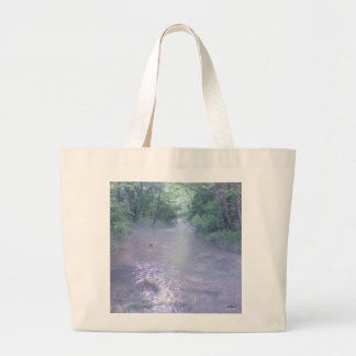 Quiet Place to Be Large Tote Bag