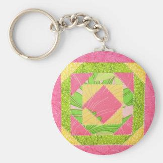 Quilt Key Ring