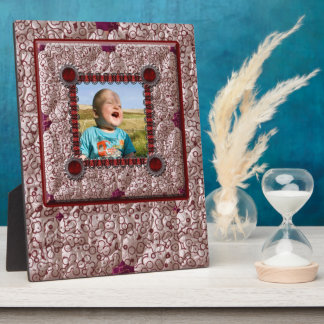 Quilted Effect Photo Template Plaque