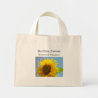 Quilting Forever! Housework Whenever Tote Bags