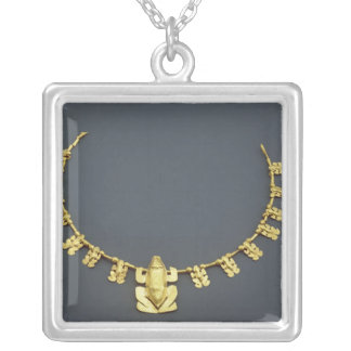 Quimbaya necklace with frogs, from Colombia