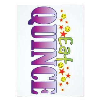 Quince Eat 14 Cm X 19 Cm Invitation Card