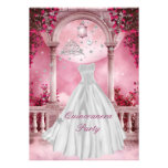Quinceanera 15th Birthday Party Personalized Announcement