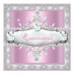 Quinceanera 15th Birthday Pink Diamond Tiara