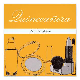 Quinceanera Birthday 13 Cm X 13 Cm Square Invitation Card