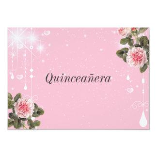 Quinceanera Invitation