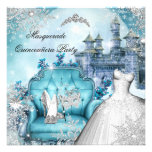 Quinceanera Masquerade Magical Princess Blue