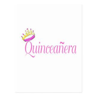 Quinceanera Postcard