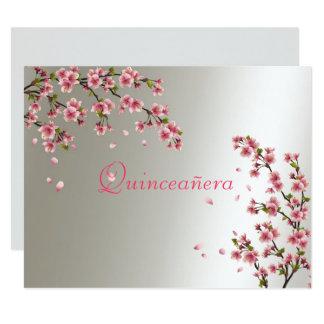 Quinceanera, Sweet Sixteen Invitation Sakura