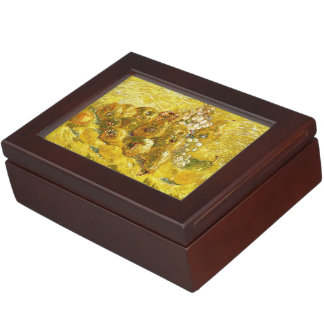 Quinces, Lemons, Pears and Grapes Vincent van Gogh Keepsake Box