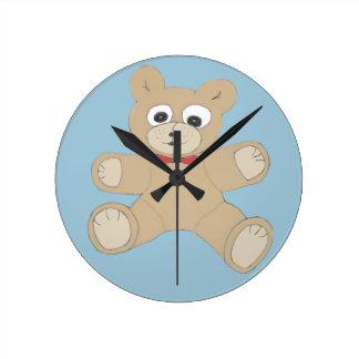 Quirky Cute Teddy Bear Clocks