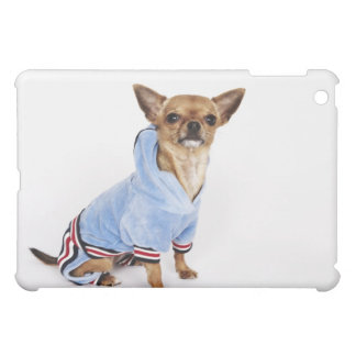 Quirky portrait of a Teacup Chihuahua iPad Mini Case