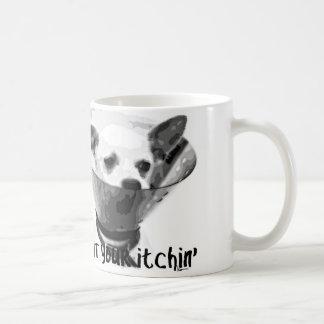 quit your itchin' coffee mug
