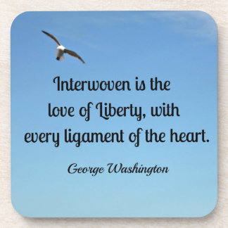 Quote about liberty, by George Washington Coaster