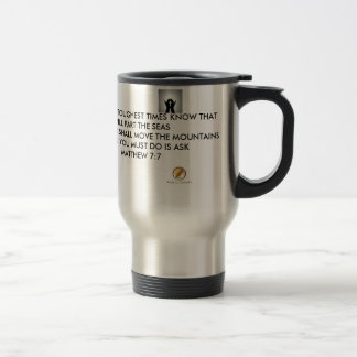 Quotes About Life- Rough Times Solution Travel Mug