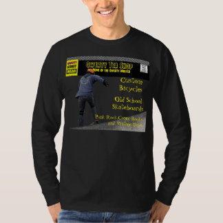 Qwerty Master Custom Bicycles and Skateboards T-Shirt