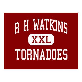 R H Watkins - Tornadoes - High - Laurel Postcard