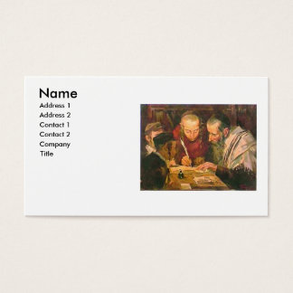 Rabbi or Rav Business Card
