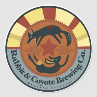 Rabbit and Coyote Brewing Sticker