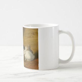 Rabbits by George Morland Coffee Mug