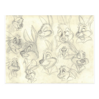 Rabbits Postcards