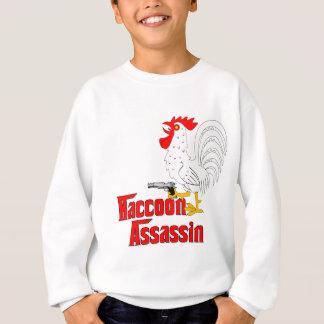 Raccoon Assassin Rooster Sweatshirt