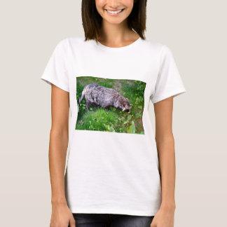 Raccoon dog on grass T-Shirt