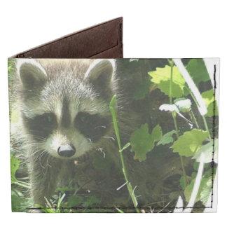 Raccoon Habitat Tyvek Wallet