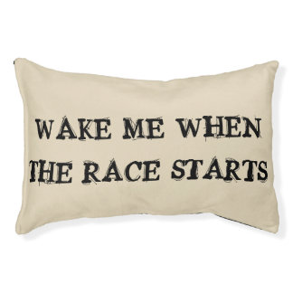 Race fan doggie bed