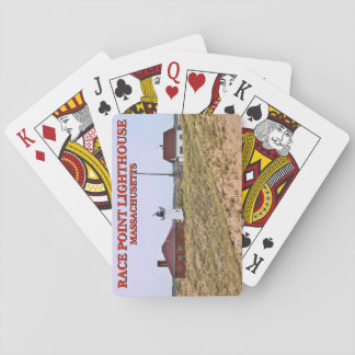 Race Point Lighthouse, Cape Cod, Massachusetts Playing Cards