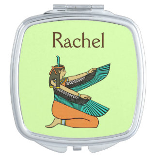 """Rachel"" Name Egyptian Goddess Mirror Mirror For Makeup"