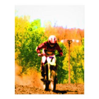 Racing Dirtbike Daredevil 21.5 Cm X 28 Cm Flyer