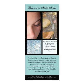 Rack Card Printing, Spa or Salon Templates