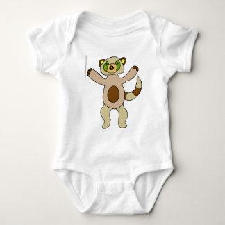 Racoon Baby Bodysuit