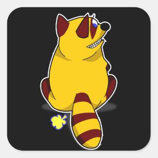 Racoon Fart Sticker
