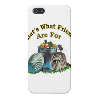 Racoon Friends iPhone 5 Cases