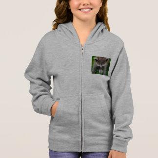 racoon hoodie
