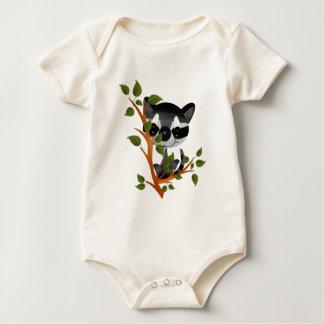 Racoon in a Tree Baby Bodysuit