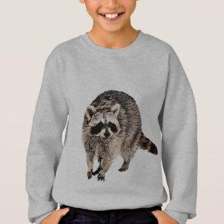 Racoon plain sweatshirt