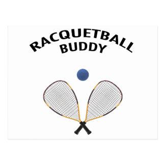 Racquetball Buddy Postcard