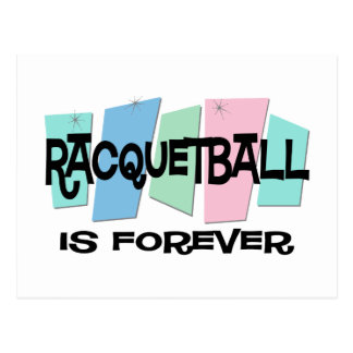 Racquetball Is Forever Postcard