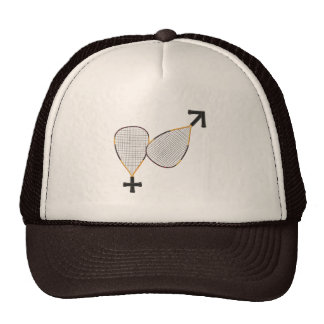 Racquetball Mars Venus Trucker Hat