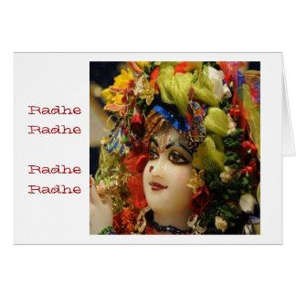 Radha KRISHNA  for Love, Peace n Prosperity Card