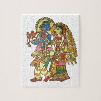 Radha Krishna Jigsaw Puzzle