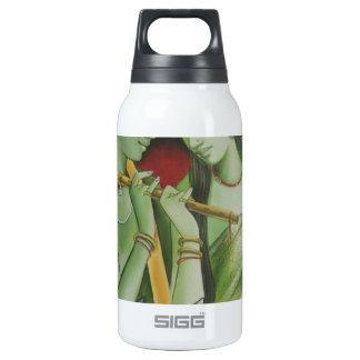 RADHA KRISHNA OIL PAINTING INSULATED WATER BOTTLE