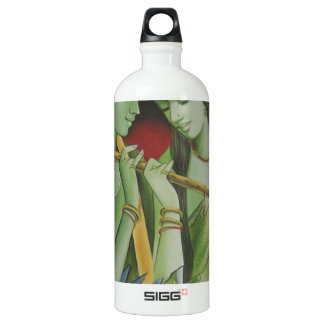 RADHA KRISHNA OIL PAINTING WATER BOTTLE