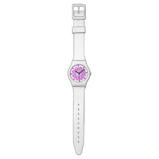 Radiant Orchid Snowflake Watches