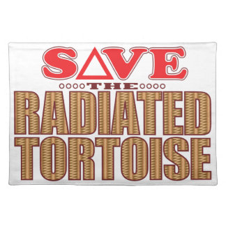 Radiated Tortoise Save Placemat