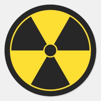 Radiation Symbol Sticker